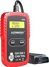 OBD2 OBD اسکنر حرفه ای ماشین اسکنر خودرو تشخیصی و خواننده کد خودرو، یک کلیک بازرسی موتور روشن نور، مشکلات ماشین را بدون نیاز به تعمیر! خواندن و پاکسازی کدهای مشکل برای همه خودروها و کامیون ها!