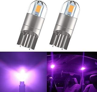 194 LED Interior Bulbs T10 LED Car Bulbs, 168 Bulb,Bright Upgrade 3030 Chips 175 2825 W5W LED Car Bulbs for Car Interior D...