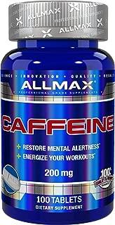 ALLMAX Nutrition Caffeine 200 mg, 100 tablets