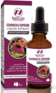 Sponsored Ad - Echinacea Drops 1 oz Liquid Extract – Natural Immune Support Herbal Defense Supplement for Kids & Adults – ...