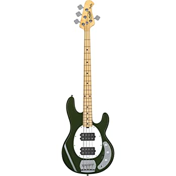 Sterling by Music Man 4 String Bass Guitar, Right, Olive (RAY4HH-OLV-M1)