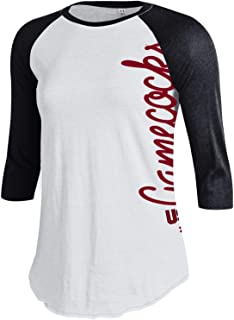 NCAA South Carolina Fighting Gamecocks Women's Baseball Tee, Large, Black