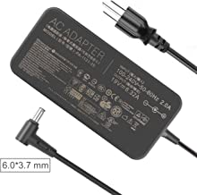 JUYOON 120W 19V 6.32A Charger AC Adapter for ASUS TUF Gaming FX705GM FX705GE FX705GD FX505 FX505GD FX505GE FX505GD FX505DY FX705DY FX505GM TUF705GD fx505dd