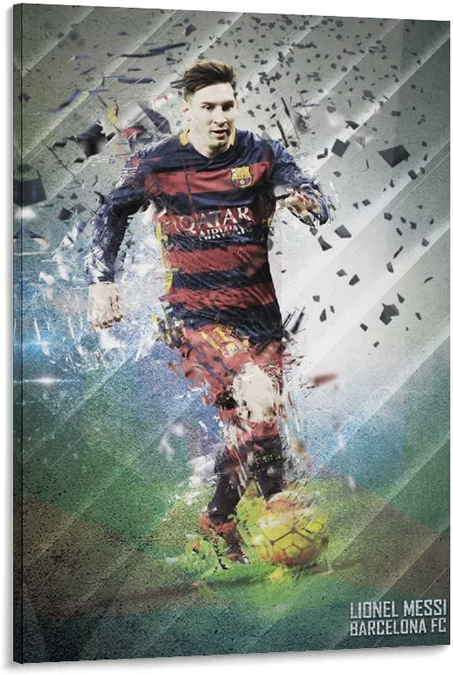 Football Lionel Messi Sports HD Poster W Ranking TOP10 Cheap mail order specialty store Art and Canvas 4