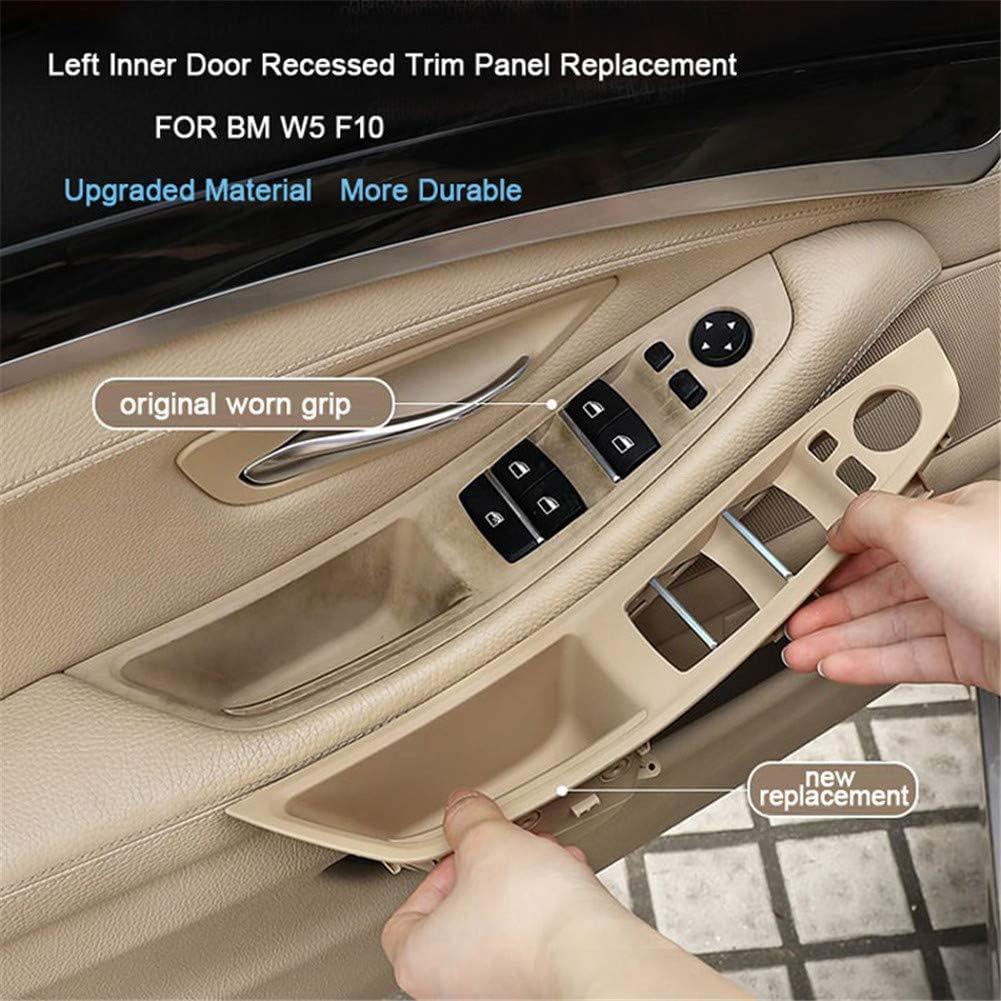 Replacement Grab Cover Trim Window Regulator Door Button Bracket for right hand driver 520 523 525 528 530 535 Window Switch Armrest Door Grab Panel for RHD 5 Series F10 F11 2010-2016