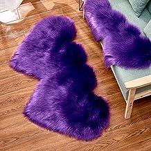 Love Plush Rug Bedroom Living Room Study Cold-Proof Non-Slip Carpet Adult Yoga Children's Game Crawling Mat,9,35 * 70cm