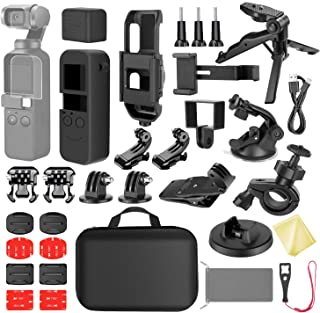 Neewer 33-in-1 Expansion Kit Compatible with DJI OSMO Pocket Action Camera Mounts, Accessory Bundle Kit with Carry Case/Ph...