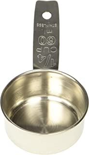 Crestware Stainless Steel Measure, 1/4 Cup Only