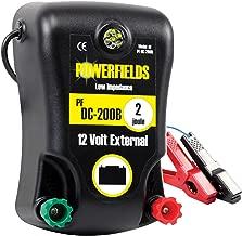 Powerfields PF-DC200B 120 Acre 12 Volt DC Electric Fence Energizer, 2.0 Joule