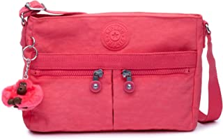Kipling Womens womens Angie Solid Convertible Crossbody Bag