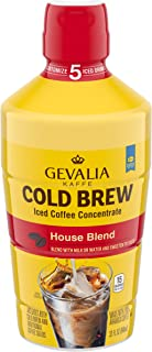 Gevalia Cold Brew House Blend Iced Coffee Concentrate, 32 oz