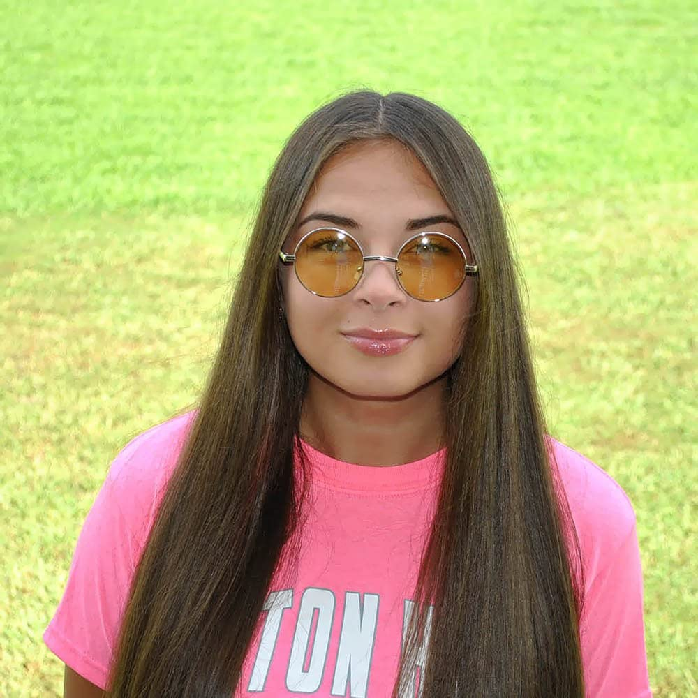 Set of 12 Pairs Retro Round Circle Colored Vintage Tint Sunglasses Metal Frame