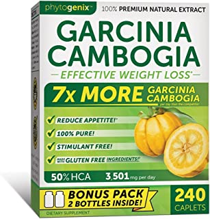 Phytogenix Garcinia Cambogia for Effective Weight Loss and Appetite Suppressant, 240 Count