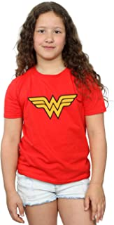DC Comics Girls Wonder Woman Logo T-Shirt