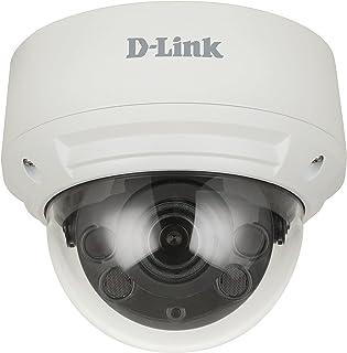D-Link DCS-4618EK Vigilance 8 Megapixel H.265 Outdoor Dome Camera with 4K Ultra HD, 30m Night Vision, H.265, WDR, LowLigh...