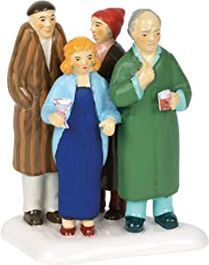 Department56 Snow Village Accessories National Lampoons Christmas Vacation Freezing Our Baguettes Off Figurine, 3.25 Inch, Multicolor