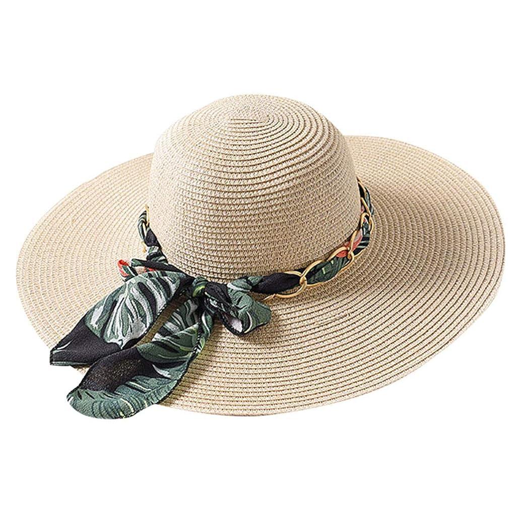 鉄道駅講堂ローンファッション小物 夏 帽子 レディース UVカット 帽子 ハット レディース 紫外線対策 日焼け防止 取り外すあご紐 つば広 おしゃれ 可愛い 夏季 折りたたみ サイズ調節可 旅行 女優帽 小顔効果抜群 ROSE ROMAN