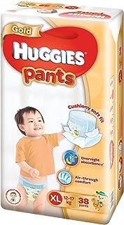 Huggies Gold Extra Large Pants,XL 12-17kg 38 count + 4 Pcs free