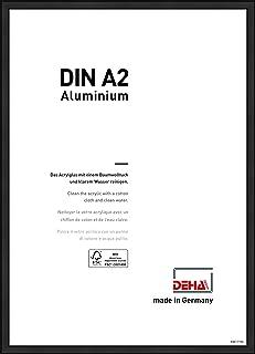 DEHA Design Fotolijst Boston, 42x59,4 cm (A2), Geanodiseerd mat zwart