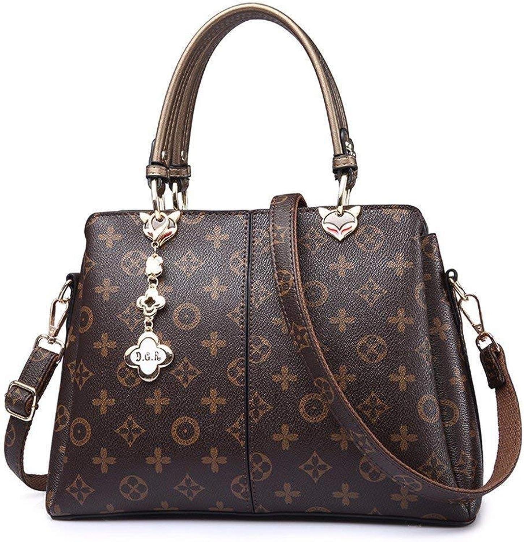 HYLV Handtasche der Frauen Schultasche, groe Kapazitt der Modehandtasche