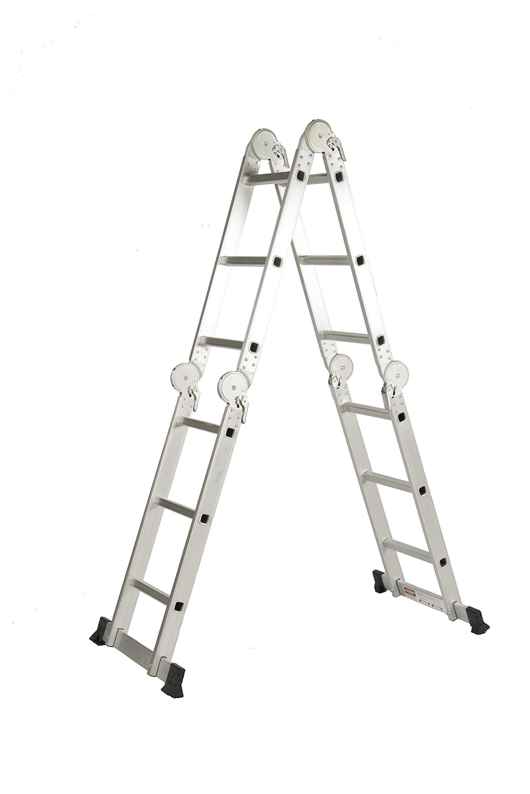 Coamer T-31 Escalera multiusos con pasarela (aluminio): Amazon.es: Bricolaje y herramientas