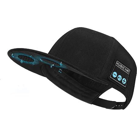 Hat with Bluetooth Speaker Adjustable Bluetooth Hat Wireless Smart Speakerphone Cap for Outdoor Sport Baseball Cap is The Birthday Gifts for Men/Women/Boys/Girls