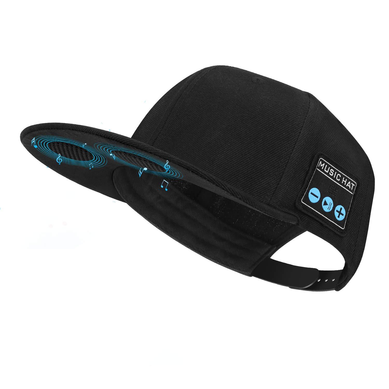 HT LT Sombrero con Altavoz Bluetooth Peque/ño Sombrero Bluetooth Bluetooth Beanie Respetadores de Almacenamiento para Hombres y Mujeres Regalos Cumplea/ños de Navidad D/ía de Acci/ón de Gracias