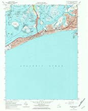 YellowMaps Far Rockaway NY topo map, 1:24000 Scale, 7.5 X 7.5 Minute, Historical, 1969, Updated 1984, 26.9 x 22 in