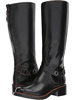 코치 서튼 부츠 COACH Sutton Boot,Black Leather