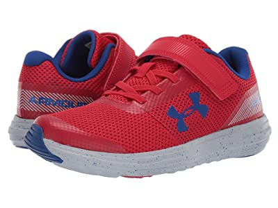 Under Armour Kids UA BPS Surge Running AC (Little Kid) (Red/Mod Gray/Royal) Boys Shoes