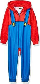 Super Mario Boys' Big Fleece Blanket Sleeper