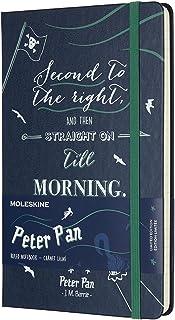 モレスキン ノートブック 限定品 ピーターパン ルールド(横罫) ハード ラージ サファイアブルー LEPN01CQP060