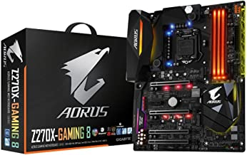 GIGABYTE AORUS GA-Z270X-Gaming 8 Gaming Motherboard LGA1151 Intel Z270 2-Way SLI ATX DDR4 Motherboard