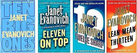 Janet Evanovich - Stephanie Plum Hardcover Novel Series - Ten Big Ones - Eleven on Top - Twelve Sharp - Lean Mean Thirteen...