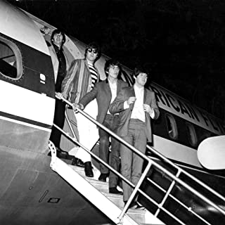 The Beatles on airstairs Photo Print (24 x 30)
