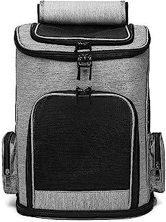 Pet Carrier Backpack Cat Dog Carrier Out Pet Bag Foldable Pet Backpack Cat And Dog Bag Soft-Sided Carriers Pet Travel Bag ...
