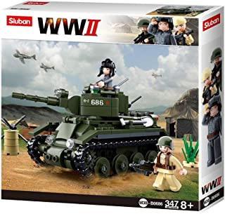 Sluban Allied Cavalry Tank, 347 Pcs, M38-B0686