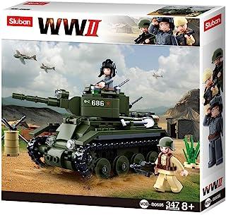 سلوبن لعبة تركيب دبابة حربية ، 347 قطعة ، M38-B0686