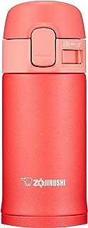 象印マホービン(ZOJIRUSHI) 水筒 ステンレス ボトル 直飲み 200ml ワンタッチ オープン タイプ コーラルピンク SM-PC20-PV