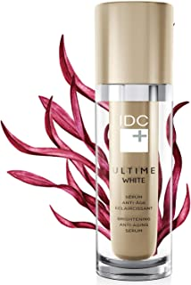 A MUST TRY! Brightening Anti-Aging Serum for Women (30 mL) Diminish Dark Spot, Discoloration, Hyperpigmentation, Wrinkles and Fine Lines - ULTIME WHITE by IDC DERMO