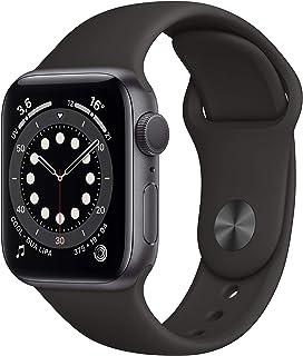 AppleWatchSeries6 (GPS, 40 mm) Caja de Aluminio en Gris Espacial - Correa Deportiva Negra