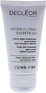 Decleor Hydra Floral Everfresh Fresh Skin Hydrating Light Cream for Unisex, 1.7 Ounce