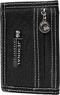 Black Mini Hommes Portefeuille Noir Hommes Portefeuille Anthracite RFID bloqueur
