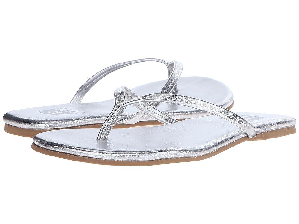 Image of Amiana 12-885 (Toddler/Little Kid/Big Kid/Adult) (Silver Metallic) Girls Shoes