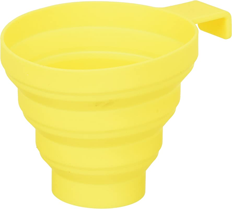 Lamson Collapsible Funnel Yellow Silicone Large