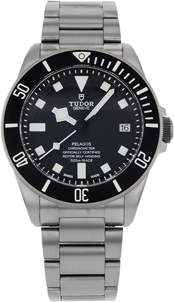 tudor pelagos orologio da uomo in titanio automatico 25600tn