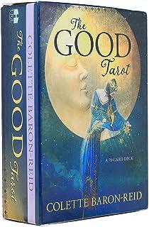 The Good Tarot 完全英語版のタロットデッキとEGuideブックEinstructionカードゲーム運命告知ゲームセット運命予測カードゲーム