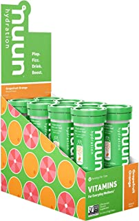 Nuun Vitamin Electrolyte Grapefruit Orange, 8 count