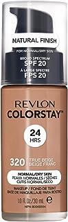 Revlon ColorStay Makeup Foundation for Normal/Dry Skin - 320 True Beige, 1.0oz/30ml