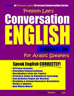 Preston Lee's Conversation English For Arabic Speakers Lesson 1 - 20